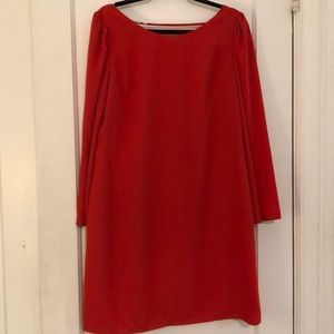 Red Nine West Dress with Back Accent